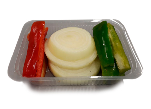 Preparado de verduras (fajitas)